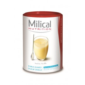 MILICAL HP Milk shake vanille Eco – 18 boissons