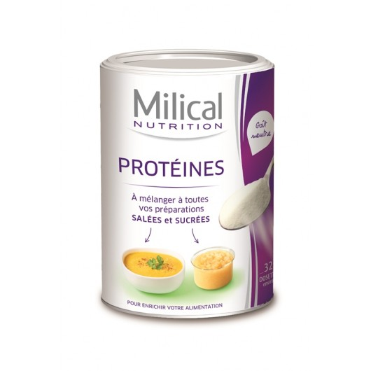 MILICAL Pur protéines laitières Saveur neutre
