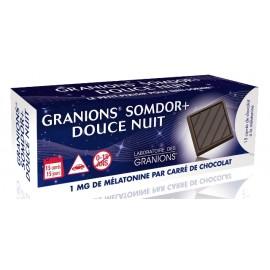 Granions Somdor Douce nuit – 15 carrés de chocolat