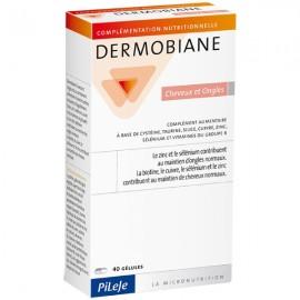 Pilèje Dermobiane Cheveux et Ongles - 40 comprimés