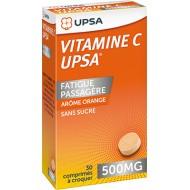 Vitamine C  à croquer orange