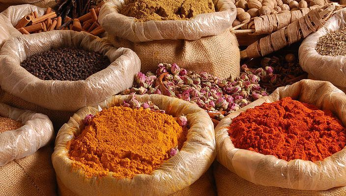Les épices et la santé