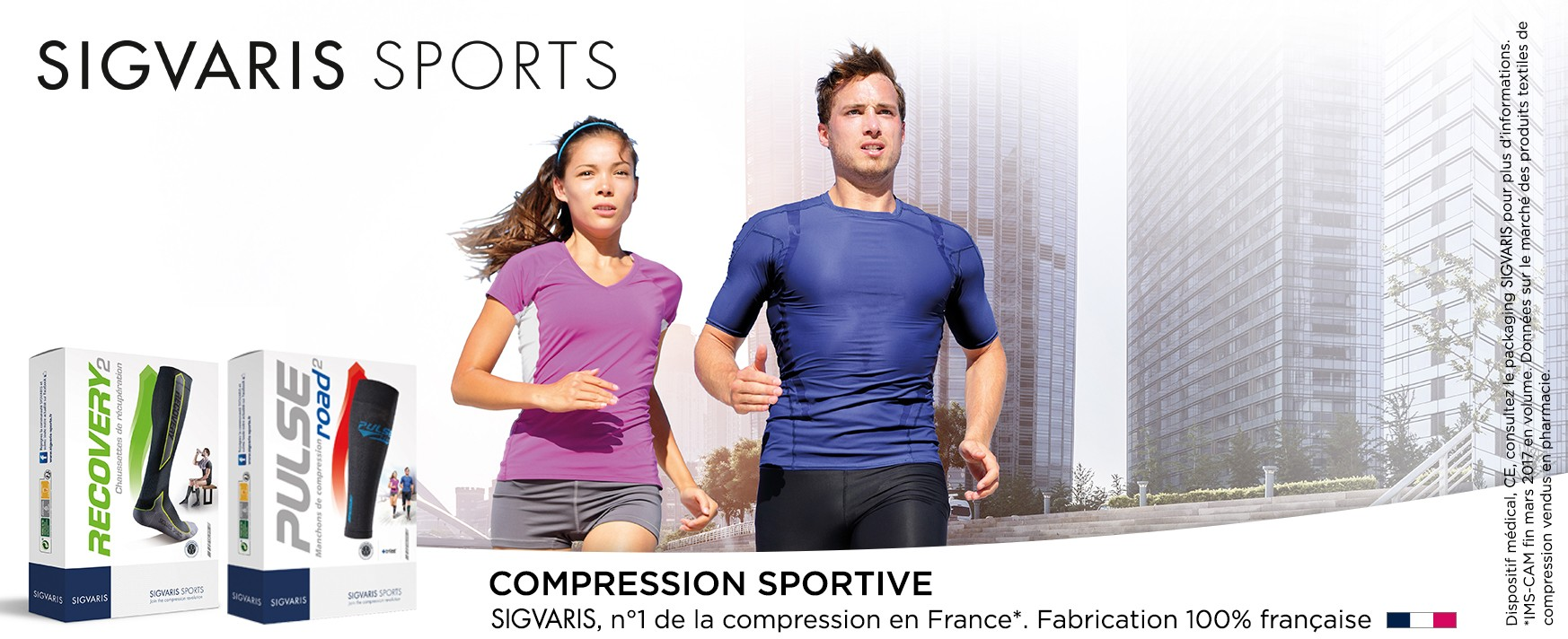 Sigvaris Sports - Compression Sportive - Numéro 1 de la compression en France