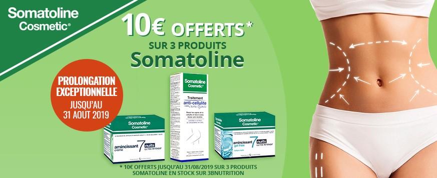 Somatoline offre prolongée
